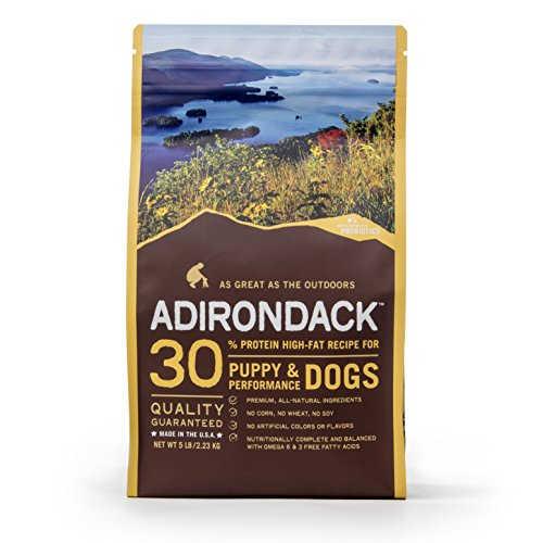 Adirondack Food 30% Protein High-Fat Recipe Dog Food