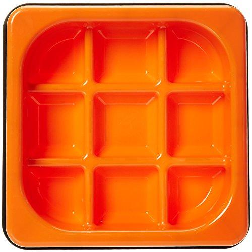 AmazonBasics Tic-Tac-Toe Dog Slow Feeder Bowl