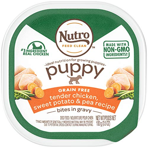 NUTRO Small Breed Puppy Chicken Stew Puppy Food Trays