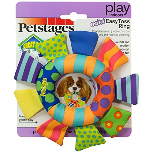 Petstages 141 Soft Toss Ring Dog Fetch and Play Toy