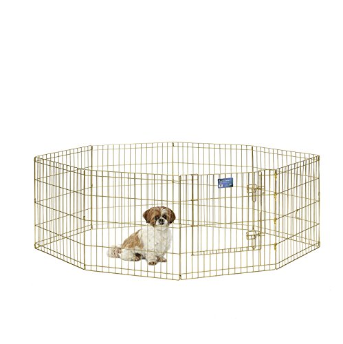 MidWest Foldable Metal Exercise Play Pen