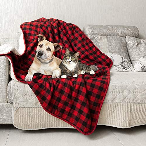 Mihachi Soft Fleece Double-Sided Pet Blanket