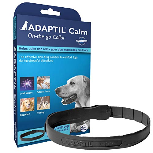 ADAPTIL Calming Collar for Dogs, A Constant Calm Anywhere You Go, Medium/Large