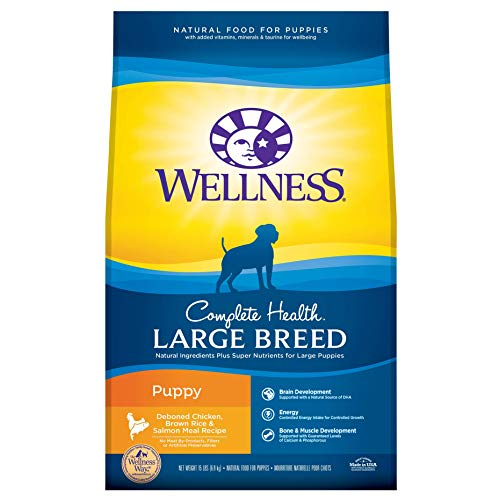 Wellness Complete Health Large Breed Puppy Food