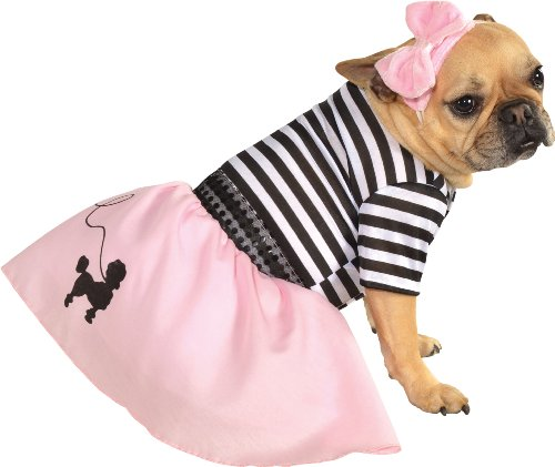Rubie's 50s Girl Dress Pet Costume