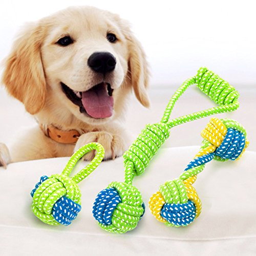 Vizpet Puppy Chew Teething Rope Toys
