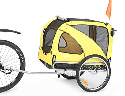 Sepnine & Leonpets 2-in-1 Medium Dog Bike Trailer