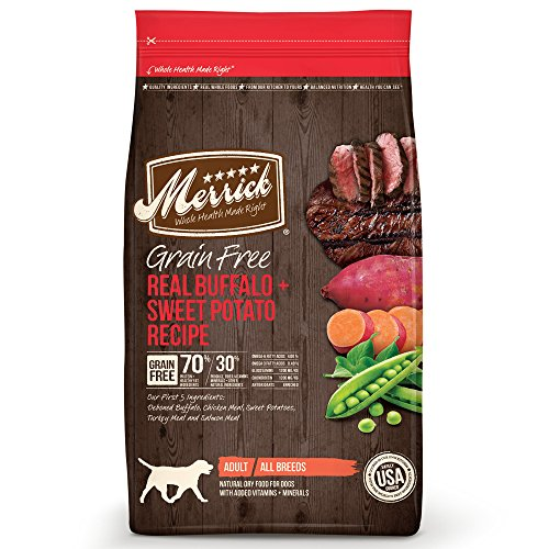 Merrick Grain Free Buffalo & Sweet Potato Formula