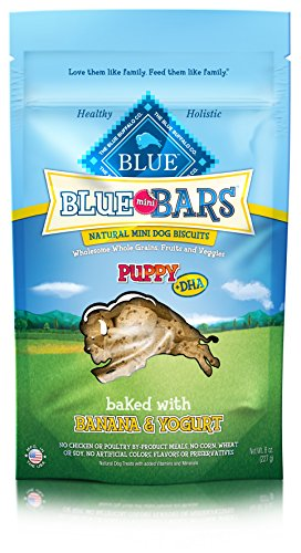 Blue Buffalo Mini Blue Bars Puppy Biscuits