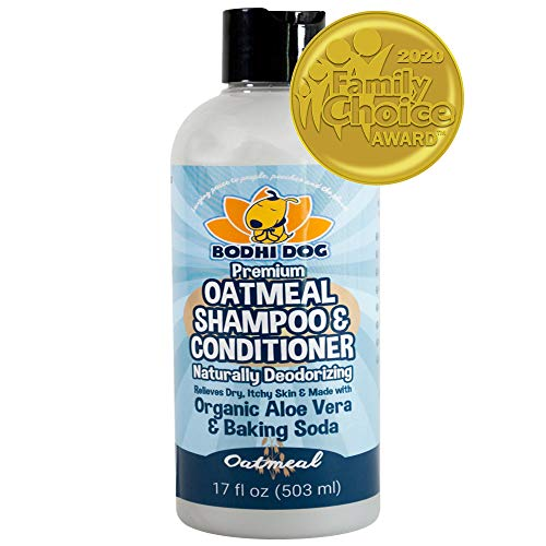 All Natural Pet Oatmeal Shampoo