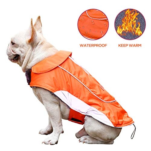 CutePet Reflective Dog Winter Coat