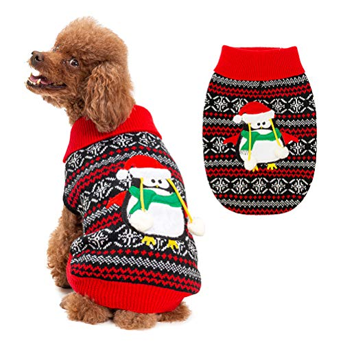 BingPet Ugly Christmas Dog Sweater
