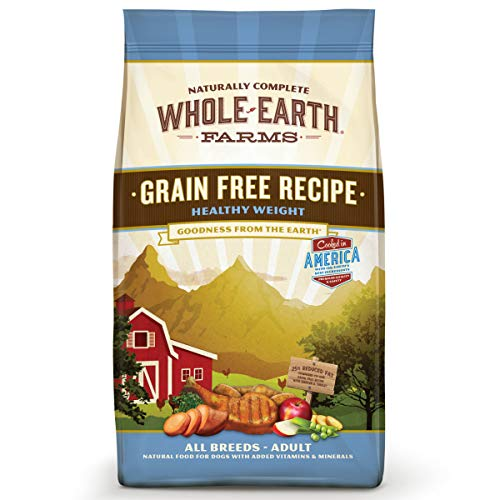 Whole Earth Farms Healthy Weight Recipe Dry Food