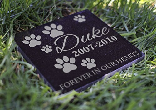 Customization Mill Memorial Pet Headstone