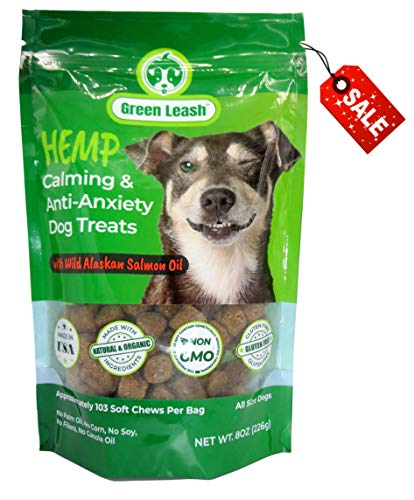 Green Leash Calming Dog Treats