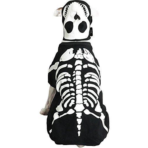 Casual Canine Cotton Glow Bones Dog Costume