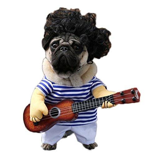 Guitar Player Dog Costume