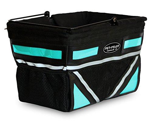 Travelin K9 2019 Pet-Pilot Dog Bike Basket Carrier