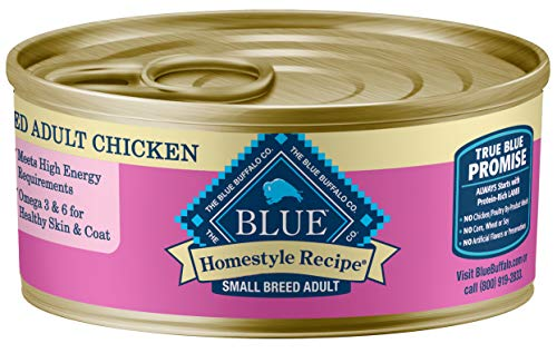 BLUE Homestyle Adult Small Breed Chicken Wet Dog Food
