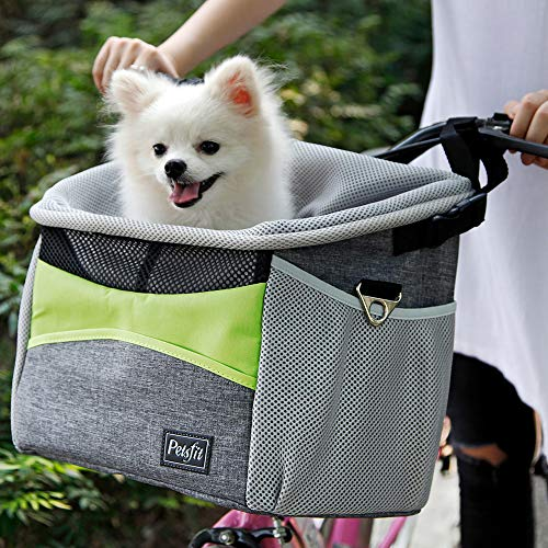 Petsfit Safety Dog Bike Basket