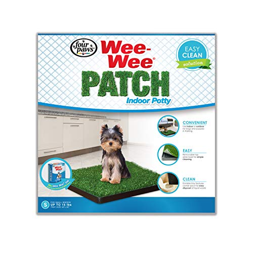Four Paws Wee-Wee Dog Grass Patch Tray