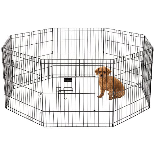 Ollieroo Dog Exercise Playpen