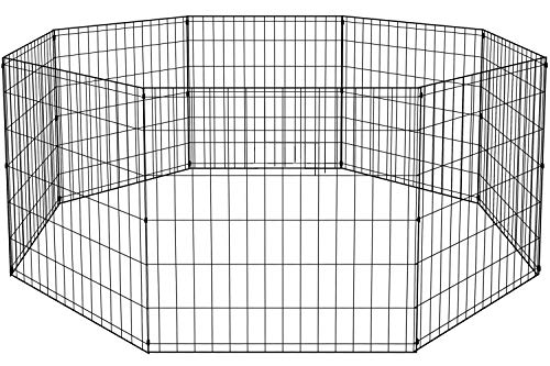 BestPet 2 Door 8-Panel Pet Wire Cage