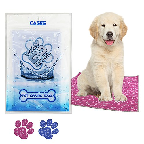 Way 2 Cool Our Innovated Pet Microfiber Cooling Towel