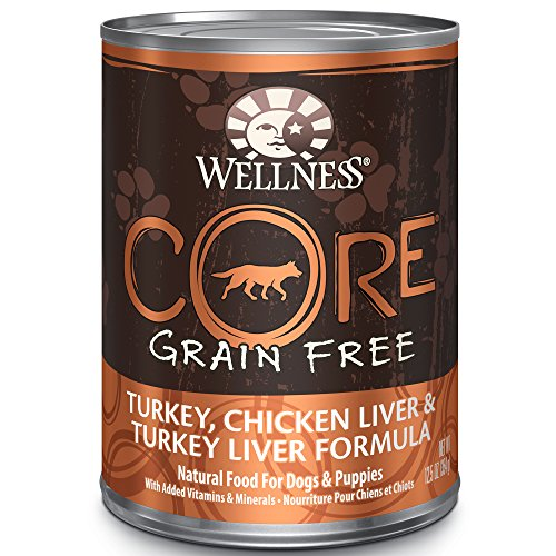 Wellness CORE Natural Wet Grain Free Canned Dog Food