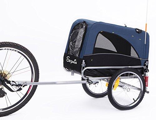 Sepnine Leopets 2-in-1 Medium Bike Trailer / Cage