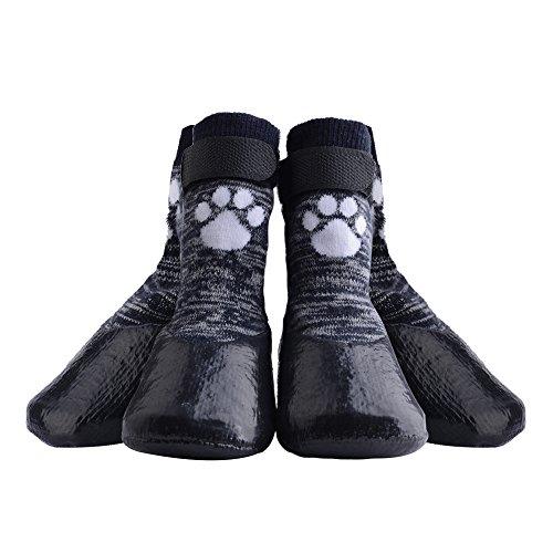 KoolTail Anti-Slip Dog Socks With Straps