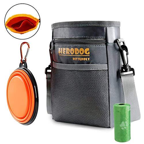 HeroDog Dog Treat Training Pouch