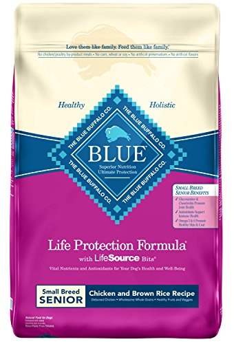 BLUE Life Protection Formula Senior Small Breed Dry Food