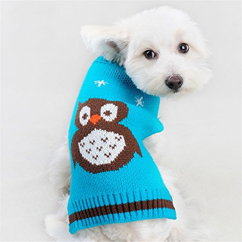 Nacoco 'The Owl' Christmas Dog Sweater
