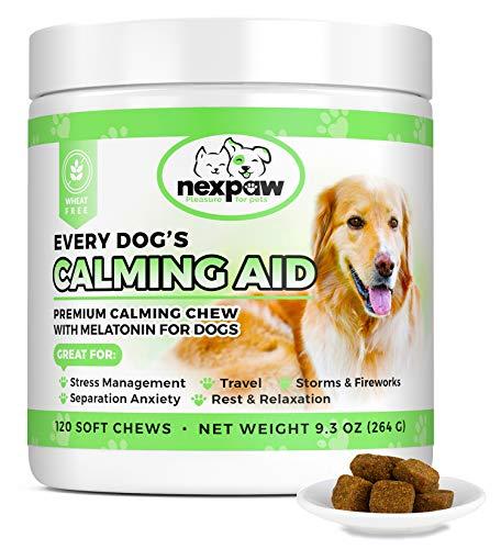 Nexpaw Calming Treats With Melatonin