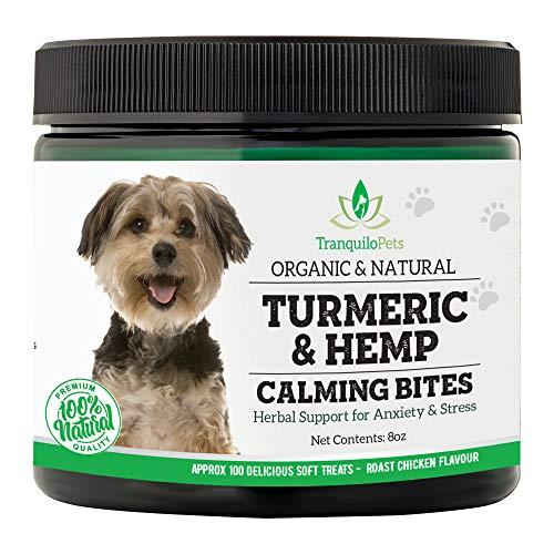 Tranquilo Pets Turmeric & Hemp Calming Treats