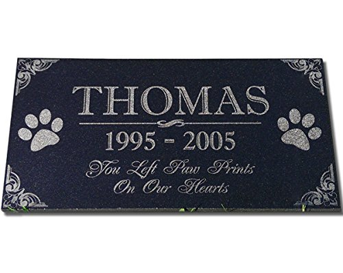 You Left Paw Prints On Our Hearts Pet Memorial