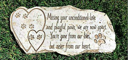 Pawprints Remembered Paw Print Pet Memorial