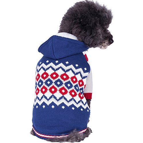 Blueberry Pet Fleece Lined Embrace Dog Sweater