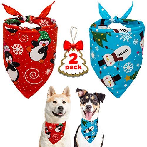 KoolTail Christmas Dog Bandana