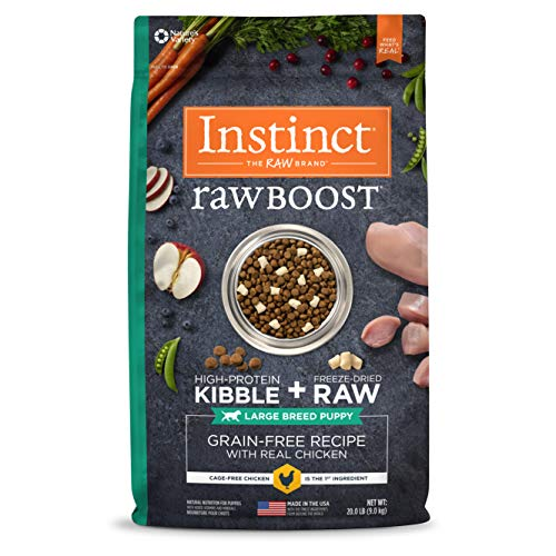 Nature's Variety Instinct Raw Boost Large Breed Formula