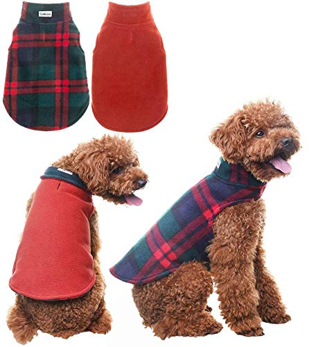 Scenereal Winter Reversible Dog Fleece Jacket
