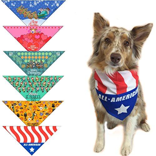 Stonehouse Collection Holiday Dog Bandanas