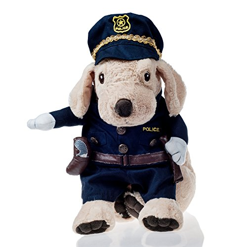 He&Ha Pet Policeman Dog Costume