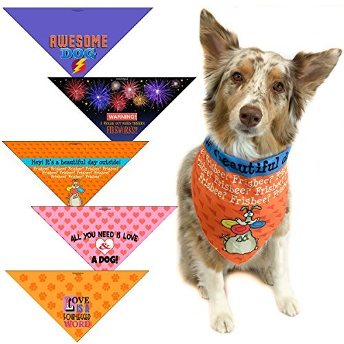 Stonehouse Collection 5 Pack Fun Bandanas