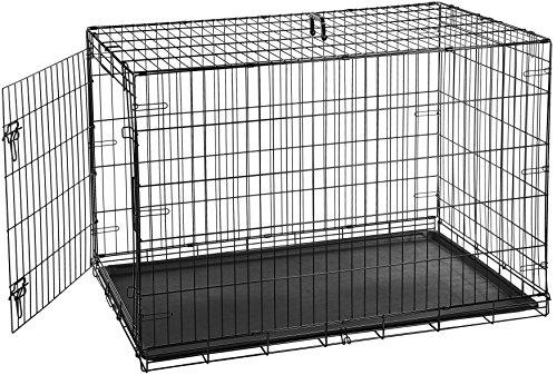 AmazonBasics Single-Door Folding Crate