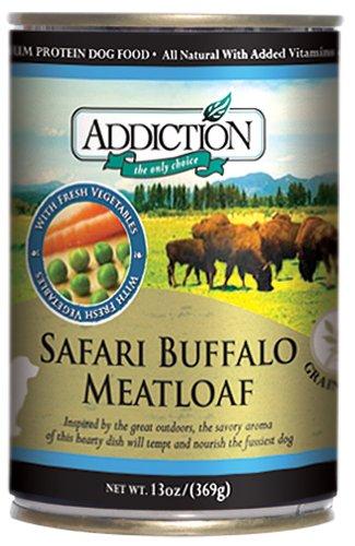 Addiction Safari Buffalo Meatloaf Dog Food