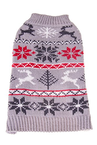 Clever Creations Christmas Festive Dog Sweater