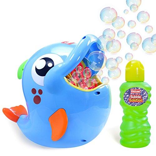Kidzlane Bubble Machine – Bubble Blower Makes Big Bubbles 500-1000 Bubbles Per Minute - Automatic...