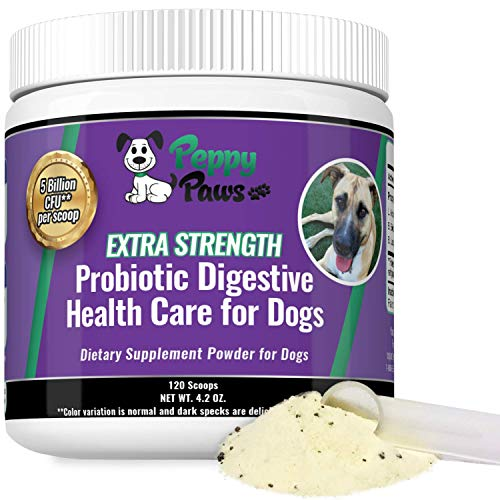 Peppy Paws Probiotic Digestive Health Care For Dogs